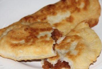 Cómo cocinar rápidamente pasteles hechos en casa con las manzanas, fritos en una sartén? receta fácil