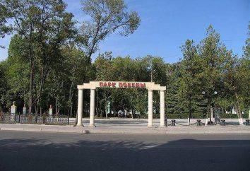 Alley of Glory a Mosca nel parco della vittoria