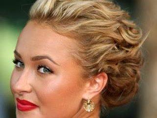 coiffures recueillies pour le bal – belle et romantique