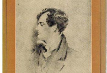 """Dzhordzh Gordon Byron, """"Il pellegrinaggio del giovane Aroldo"""": una sintesi. """"Il pellegrinaggio del giovane Aroldo"""" – una poesia in quattro parti"""
