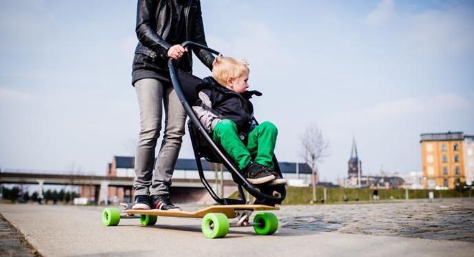 Neuheiten von der Firma Quinny: -skates Kinderwagen, leichte ...