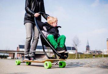Novo da empresa Quinny: skates para passeadores, caminhadas à luz da cidade, têxteis de grife