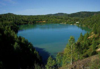 Temirtau, Blue Lake. Blue Lake, région de Kemerovo, Temirtau
