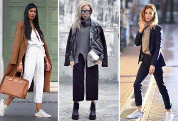 O que vestir com calças: Recomendações fotos