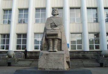 Pomniki historii Ługańska i opis
