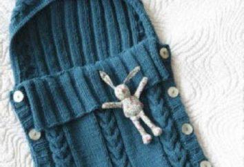 koperta wzór dla noworodka kapturem: cechy, opisy i