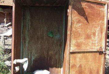 Cottage Bad mit WC. Straße WC Gerät