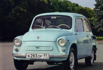"Car ""Zaporozhets"": características, modelos, história e comentários"