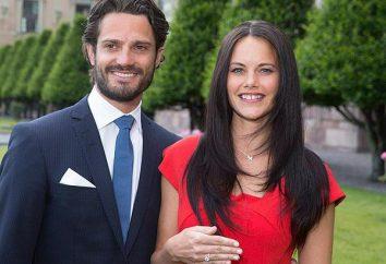 Le prince Carl Philip et la princesse Sofia