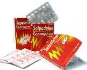 """Lek """"Solpadein"""". Instrukcje użytkowania"""