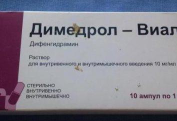 « Diphenhydramine »: ce qui aide, mode d'emploi