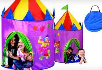 Jogar tenda para as crianças. Tent-house