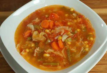 Comment faire cuire la soupe aux pois végétarien. soupes végétariennes: recettes avec photos