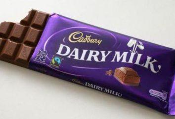 """Cadbury"" – chocolate para conhecedores de doces"