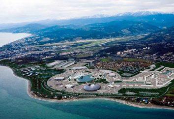 Grandi aree di Sochi e tutto interessante su di loro