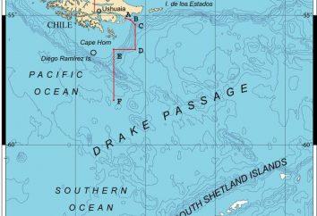 Intercontinental Paso Drake – es la amplia estrecho en el mundo
