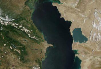 Der größte Binnensee in Eurasien. Der größte Binnensee der Welt