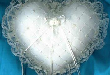 poduszki obrączka – jest integralną częścią nowoczesnych wesela