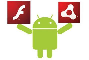 """Flash Player aus dem """"Android"""" Wie installieren? Was kann den Flash Player ersetzen?"""