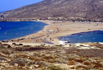 Rhodes, « Baiser des deux mers ». Grèce