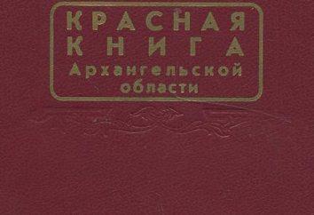 Il Libro rosso della regione di Arkhangelsk: animali e piante