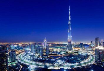 """""""Burj Khalifa"""": wysokość wieży. """"Burj Khalifa"""": zdjęcia z wysokości"""