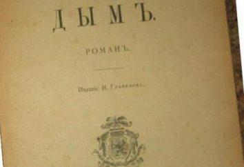 """Le roman « Smoke »: un résumé. Tourgueniev IS, """"Smoke"""": Travaux d'analyse"""