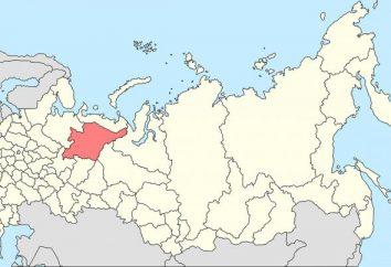 Die Hauptstadt der Komi. Komi Hauptstadt am Ufer des Sysola