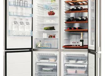 """Você gostaria de uma boa geladeira? """"Electrolux"""" para ajudá-lo!"""