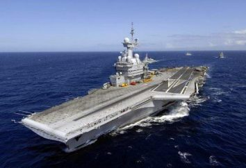 La marina de guerra francés: submarinos, buques de guerra modernos
