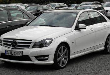 """""""Mercedes W204"""": descrizione, le specifiche, recensioni"""