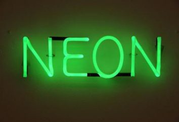 Neon – che cosa è questo? Dove neon del caso