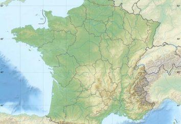 Alpes franceses. A altura do Mont Blanc. França Geografia