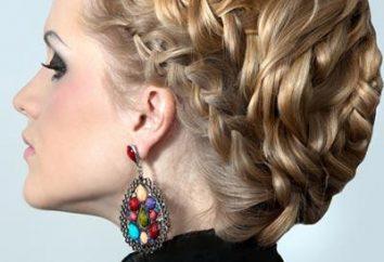 fryzury wieczorowe oparte na rożnie