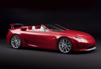 Lexus LFA – ideológicamente nuevo superdeportivo japonés