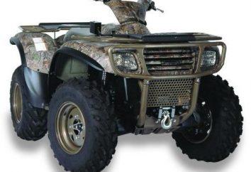 Wyciągarka ATV: możliwości doboru i ustawienia