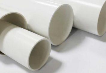 tubo de cloruro de polivinilo: montaje de funciones, características y clasificaciones