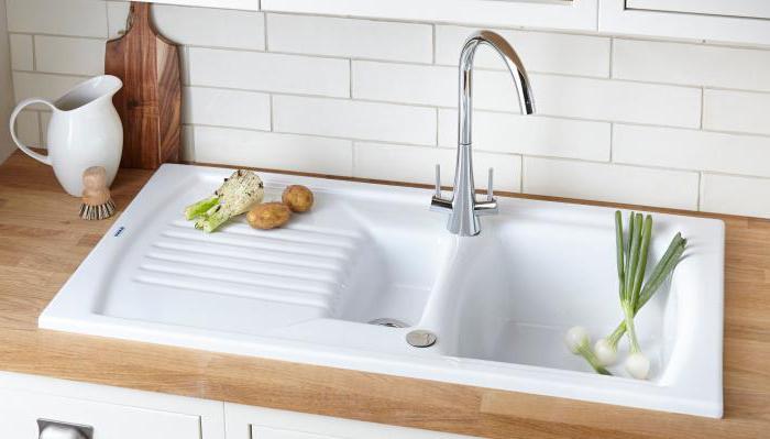 Stein Spüle Küche: Bewertungen, Vor-und Nachteile. Spülen für die ...