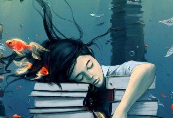 Jakie marzenia, które unoszą się w wodzie?