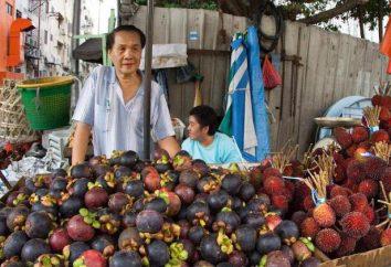Owoc mangostanu: użyteczne właściwości, składu