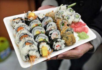 Como comer sushi?