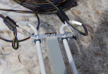 Trubostoyka energia elettrica di ingresso per la trama o la casa