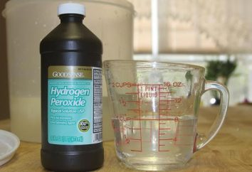 Co się stanie, jeśli pić nadtlenku wodoru? Dziecko przypadkowo pił nadtlenek wodoru: co robić?