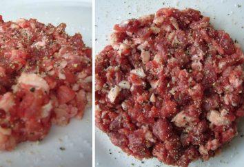 Mięso mielone: tajemnice gotowania i dania z nim