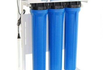 filtres à eau d'osmose inverse domestique