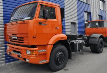 KAMAZ-53605: Spezifikationen, Fotos