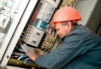 Descrição do trabalho do eletricista: deveres funcionais, direitos, responsabilidade
