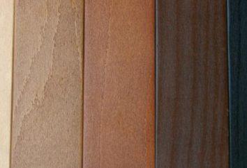 Farbflecken für Holz: Wählen Sie keine!