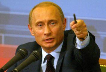Gehalt des Präsidenten der Russischen Föderation als separate Zeile im Haushalt des Landes