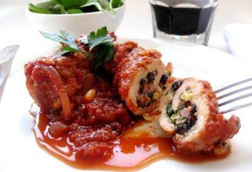Roulade de veau: les recettes les plus délicieuses, une variété de garnitures